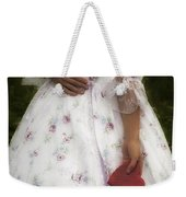 Woman With A Heart Weekender Tote Bag