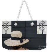 Woman With A Straw Hat Weekender Tote Bag