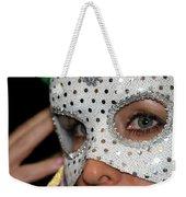 Woman With Mask Weekender Tote Bag