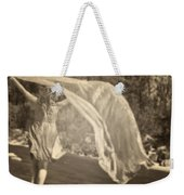 Woman With Veil Weekender Tote Bag