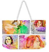 Woman's Soul Weekender Tote Bag