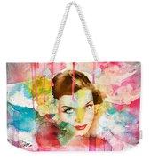 Woman's Soul Prelude Weekender Tote Bag