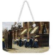 Women Leaving Work, 1895 Weekender Tote Bag