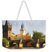 Wonderful Prague Weekender Tote Bag