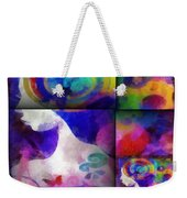 Wondering 1 Weekender Tote Bag by Angelina Vick