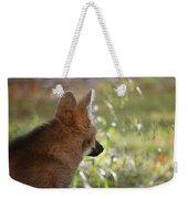 Wondering Wolf Weekender Tote Bag