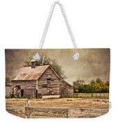 Wood Barn Weekender Tote Bag