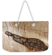 Wood Design Weekender Tote Bag