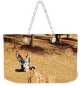 Wood Duck In Fflight Weekender Tote Bag