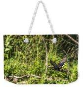 Wood Duck In Flight Weekender Tote Bag
