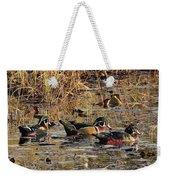 Wood Duck Trio Weekender Tote Bag
