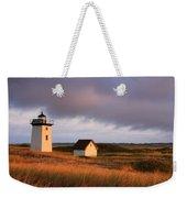 Wood End Lighthouse Landscape Weekender Tote Bag