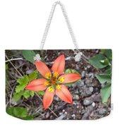 Wood Lily Lilium Philadelphicum Weekender Tote Bag