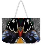 Wood Owl Weekender Tote Bag