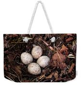 Woodcock Nest And Eggs Weekender Tote Bag