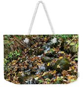 Wooded Creek Weekender Tote Bag