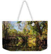 Wooden Bridge Over The Hillsborough River Weekender Tote Bag