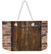 Wooden Door Weekender Tote Bag