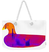 Wooden Duck Decoy Weekender Tote Bag