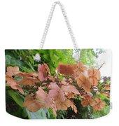 Wooden Hydrangea Weekender Tote Bag