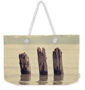 Wooden Piles Weekender Tote Bag