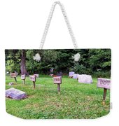 Wooden Plaquards Weekender Tote Bag