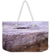 Wooden Ring Abstract Weekender Tote Bag