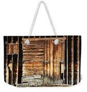 Wooden Slats Barn Weekender Tote Bag