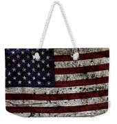 Wooden Textured Usa Flag2 Weekender Tote Bag