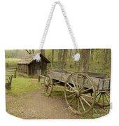 Wooden Wagon Weekender Tote Bag