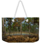 Woodland Rainbow Weekender Tote Bag