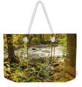 Woodland Scene Weekender Tote Bag