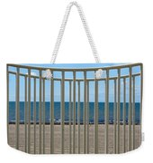 Woodlawn Beach State Park Through Playground Equipment  Weekender Tote Bag