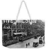 Woodrow Wilson In Paris Weekender Tote Bag