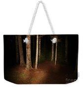 Woods At Night Weekender Tote Bag