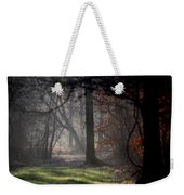 Woods - Dirt Road Photo - The Quiet Place Weekender Tote Bag