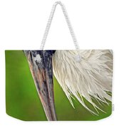 Woodstork Portrait Weekender Tote Bag