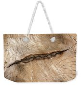 Woodwork Design Weekender Tote Bag
