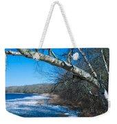 Wordens Pond Winter Weekender Tote Bag