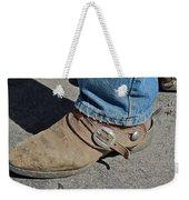Work Boots Weekender Tote Bag