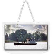 Workboat Weekender Tote Bag
