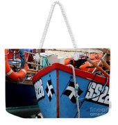 Working Harbour Weekender Tote Bag by Terri Waters