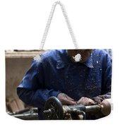 Working His Trade Weekender Tote Bag