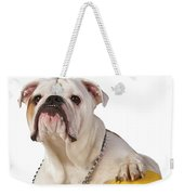 Working Like A Dog Weekender Tote Bag