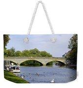 Workman Bridge And The River Avon Weekender Tote Bag