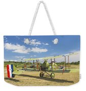 Worl War One 1916 Royal Aircraft F.e.8 Canvas Photo Poster Print Weekender Tote Bag