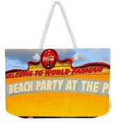World Famous Party Weekender Tote Bag