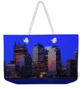 World Financial Center New York Weekender Tote Bag