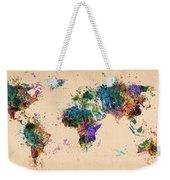 World Map 2 Weekender Tote Bag