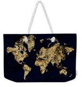 World Map Rock Weekender Tote Bag